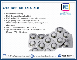 Cold Form Foil (ALU-ALU)