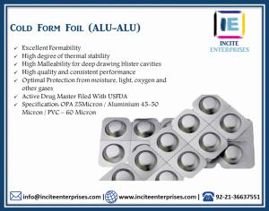 Cold Form Foil (ALU-ALU)