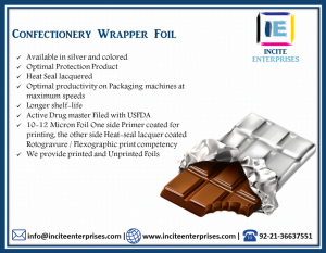 Confectionery Wrapper Foil
