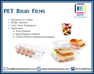 PET Rigid Films