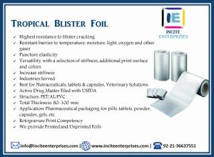 Tropical Blister Foil